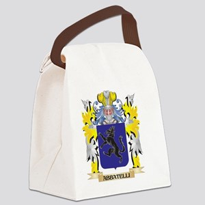 Abbatelli Coat of Arms - Family C Canvas Lunch Bag