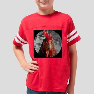 modern clock2 Youth Football Shirt