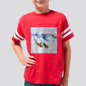 sleddingsqrnd Youth Football Shirt