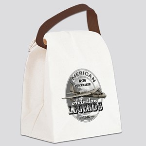 B-36 Peacemaker Bomber Canvas Lunch Bag