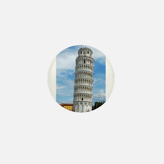 Leaning Tower of Pisa Mini Button