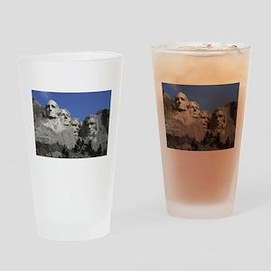 Mount Rushmore Drinking Glass