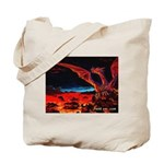 2 Dragons (2-sided) Tote Bag