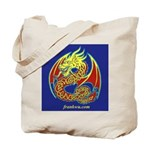 2 Celtic Dragon (2-sided) Tote Bag