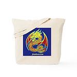 2 Celtic Dragon (2-sided) Tote Bag