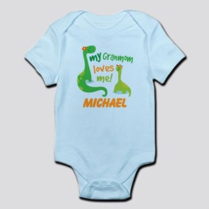 Grandmom Loves Me Personalized Body Suit