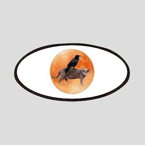 Cat Raven Moon Patches