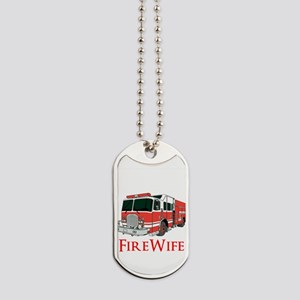 Fire Wife Dog Tags