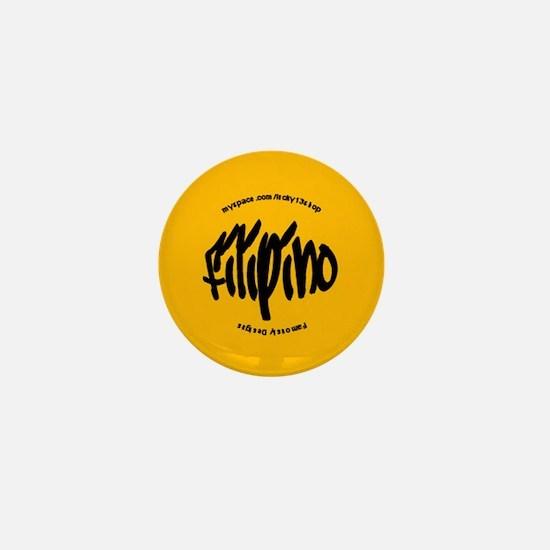 Filipino Tag Mini Button