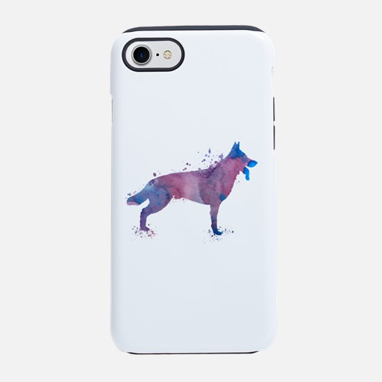 German shepherd iPhone 7 Tough Case