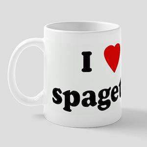 I Love spagetti Mug