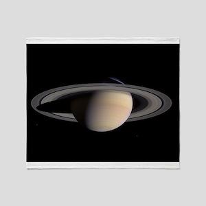 Saturn Throw Blanket