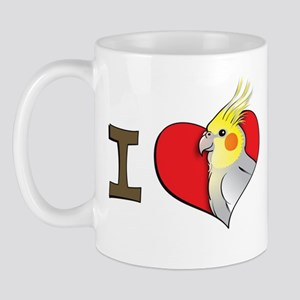 I heart cockatiels Mug