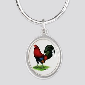 Dark Red Gamecock Necklaces