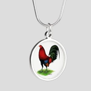 Dark Red Gamecock Necklaces