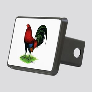 Dark Red Gamecock Hitch Cover