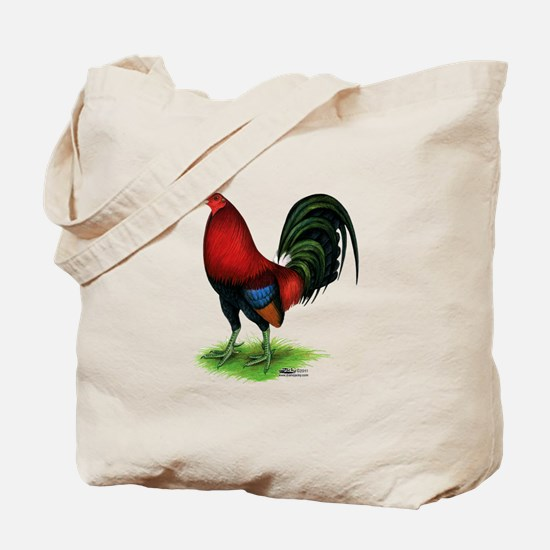 Dark Red Gamecock Tote Bag