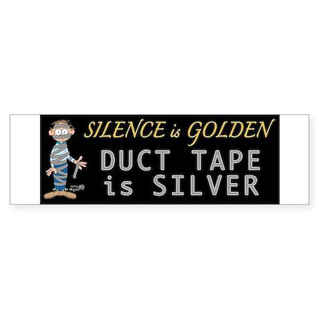 Duct Tape Humor Bumper Sticker