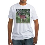 Doe in the Shade Fitted T-Shirt