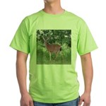 Doe in the Shade Green T-Shirt