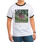 Doe in the Shade Ringer T