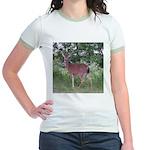 Doe in the Shade Jr. Ringer T-Shirt