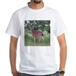 Doe in the Shade White T-Shirt