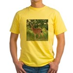 Doe in the Shade Yellow T-Shirt