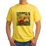 Huckleberries Yellow T-Shirt