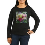 Huckleberries Women's Long Sleeve Dark T-Shirt
