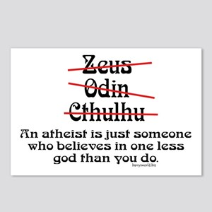 Atheist (1) Postcards (Package of 8)