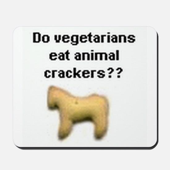 Animal Crackers Mousepad