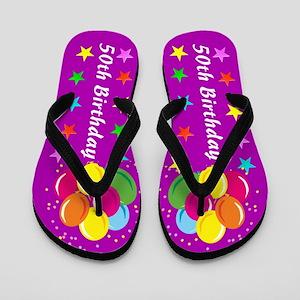SUPERB 50TH Flip Flops