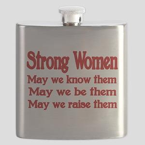 STRONG WOMEN Flask