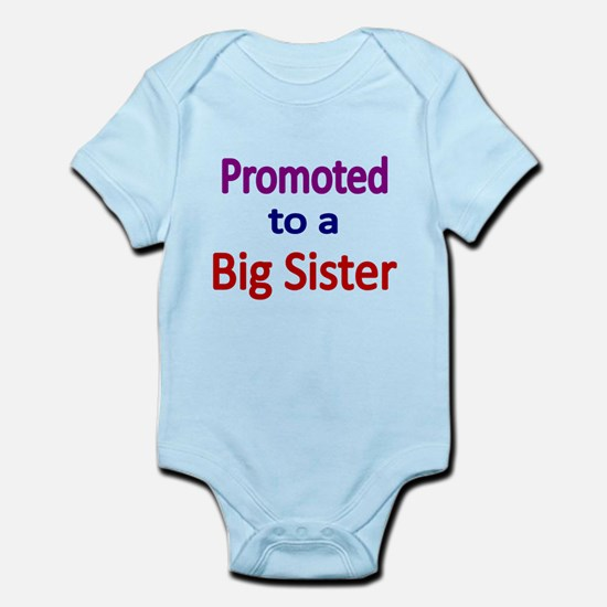 PROMOTED TO A BIG SISTER Body Suit