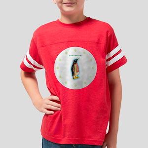 6-PenguinClock Youth Football Shirt