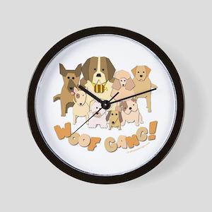 Woof Gang! Wall Clock