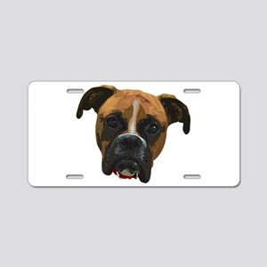 Boxer face005 Aluminum License Plate