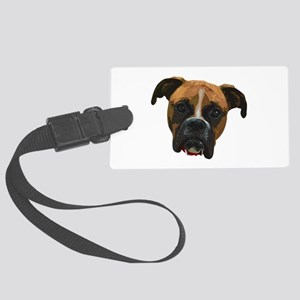Boxer face005 Luggage Tag