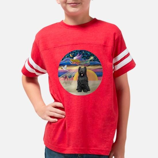 W-XmasStar-Briard-blk-new Youth Football Shirt