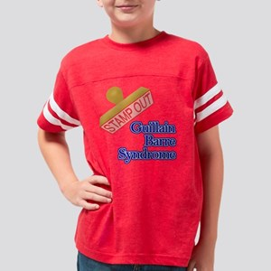 Guillain Barre Syndrome Youth Football Shirt