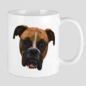 Boxer face005 Mugs