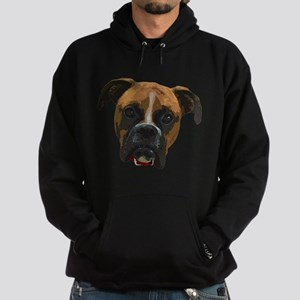 Boxer face005 Hoodie