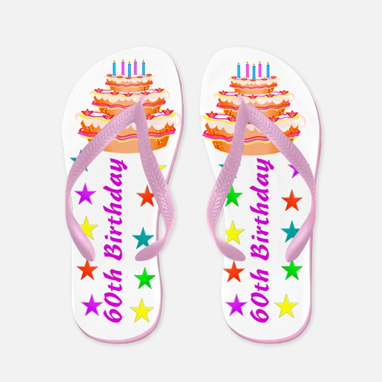 FANTASTIC 60TH Flip Flops