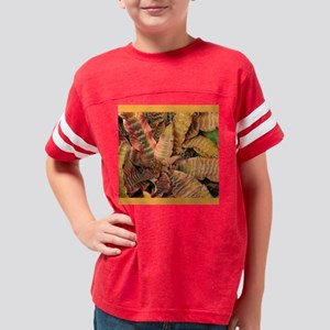 cactus_2_4inch_tile Youth Football Shirt