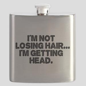 Im Not Losing Hair Flask