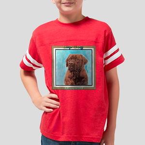 lap dag 10x10_apparel Youth Football Shirt