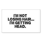 Im Not Losing Hair Sticker