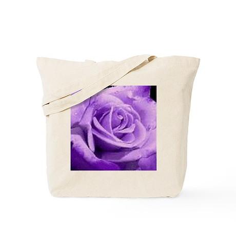 Rose Purple Tote Bag