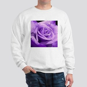 Rose Purple Sweatshirt